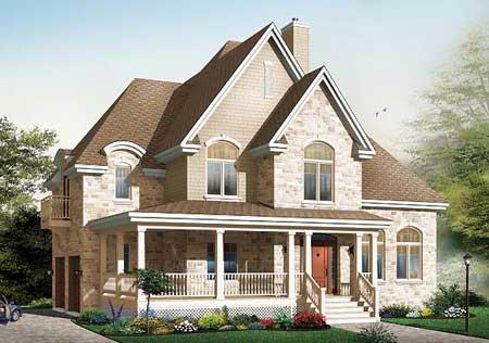 Домов проект двухэтажного дома