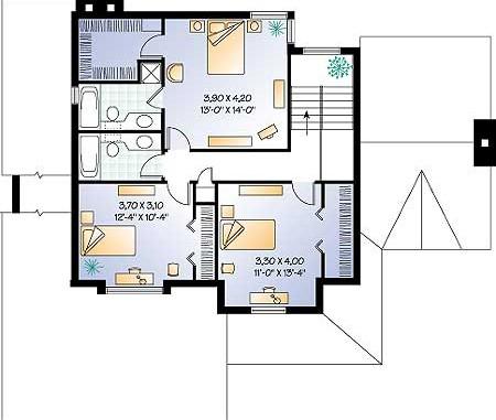 Дачного дома проект двухэтажного дома