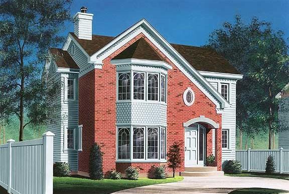 Проект дома w2750