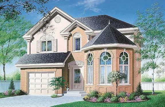 Проект дома w2807