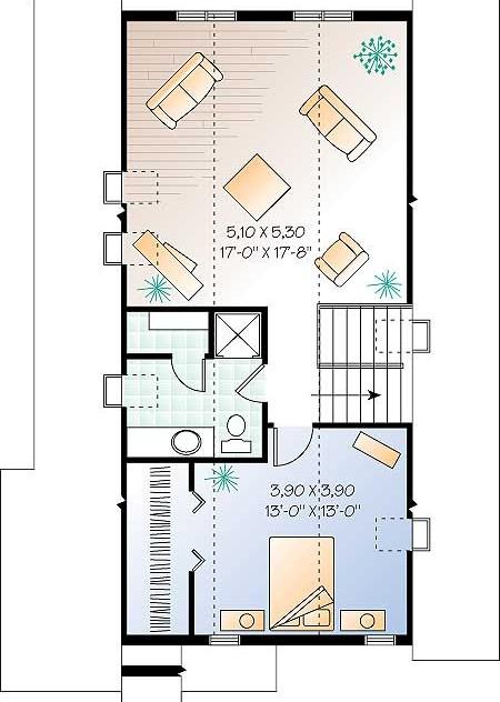 Дома план 3 го этажа дома коттеджа