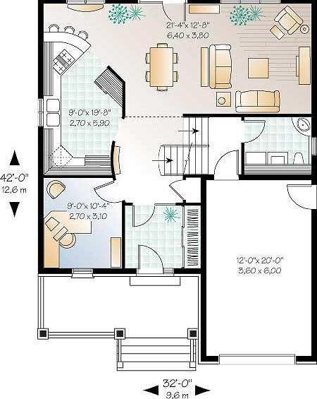 Дома план 1 го этажа дома